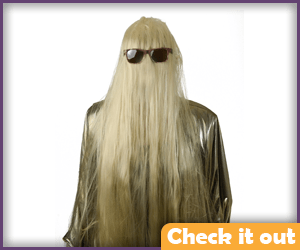 Cousin Itt Costume Wig.