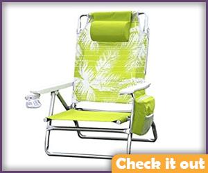 Yellow Folding Chair.