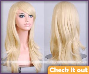 Modern Blonde Wig.