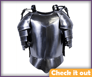 Metal Chest Plate and Shoulder Armor.
