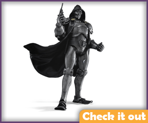 Doctor Doom Stealth Armor Figure.