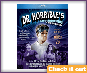 Dr. Horrible's Sing Along Blog Blu-Ray.