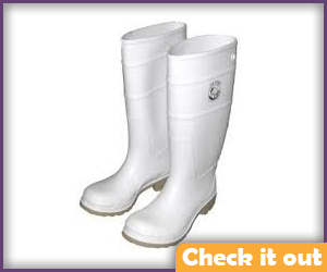 White Rubber Boots.