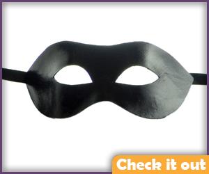 Leather Eye Mask.