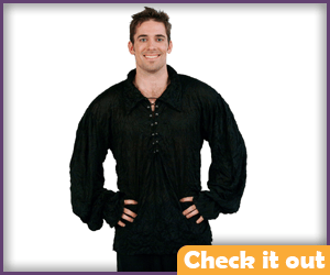 Black Renaissance Shirt.