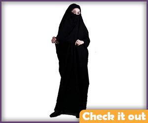 Black Burqa Outfit.