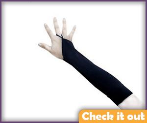 Black Finger Loop Gloves.