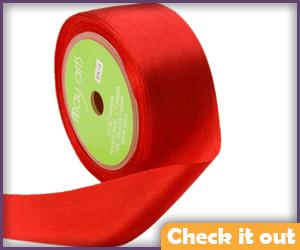Red Silk Ribbon.