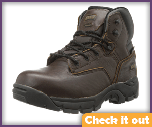 Brown Tactical Boots.