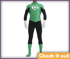 Green Lantern Costume Classic Bodysuit.