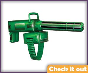 Inflatable Gatling Gun.