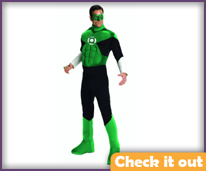 Green Lantern Classic Muscle Costume.