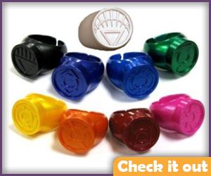 Green Lantern Rings.