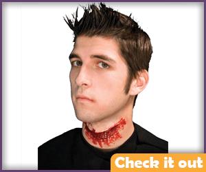 Slit Throat Prosthetic.