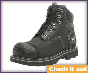 Steel Toe Boots.
