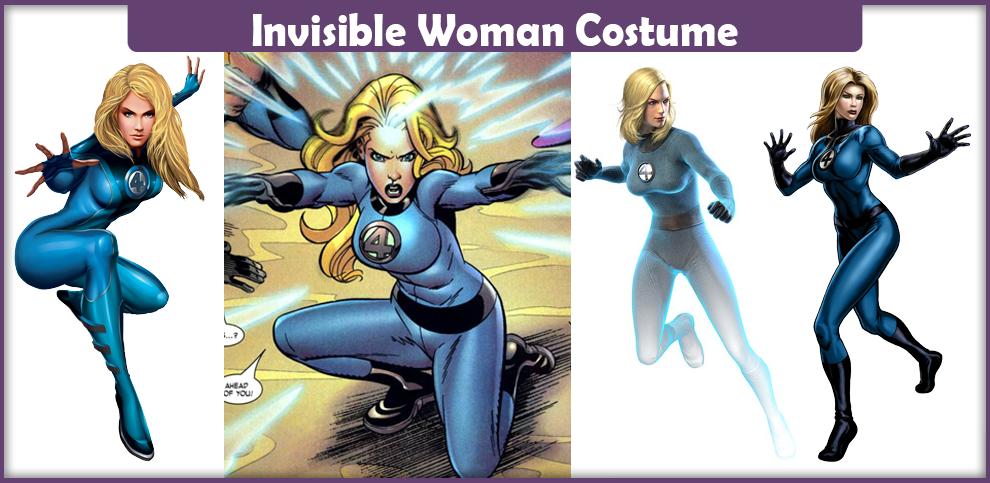 Invisible Woman Costume