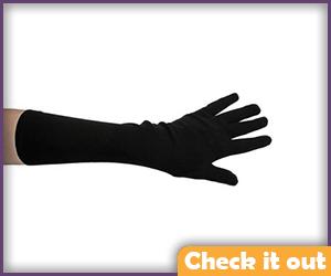 Long Nylon Gloves.