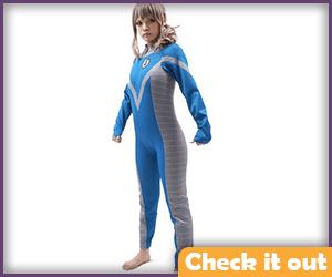 Invisible Woman Retro Bodysuit.