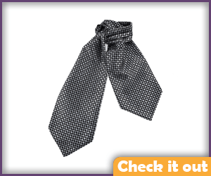 Grey Checkered Ascot.