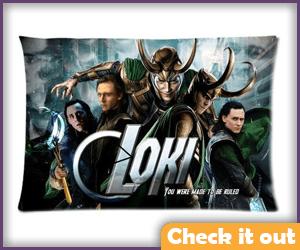 Loki Pillow Case.