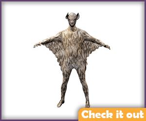 Adult Bat Bodysuit.