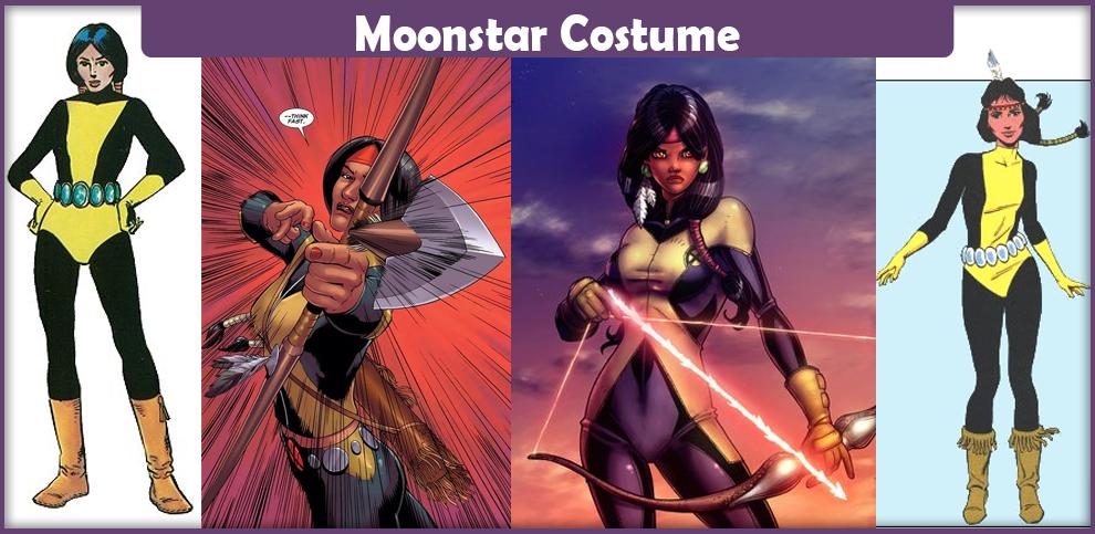 Moonstar Costume
