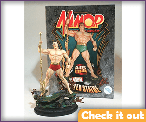 Namor Costume Figure.