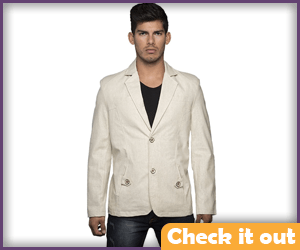 Peeta Costume Cream Blazer.