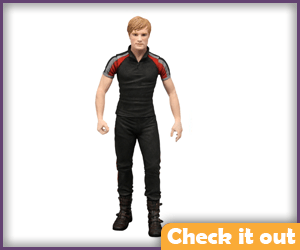 Peeta Hunger Games Training Gear Doll.