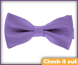 Purple Bow Tie.