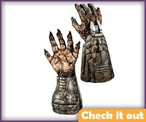 Predator Costume Gloves.