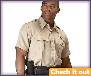 Rick Grimes Costume Deputy Shirt.