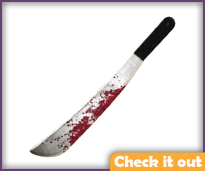 Bloody Machete.