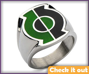 Stainless Steel Ring.
