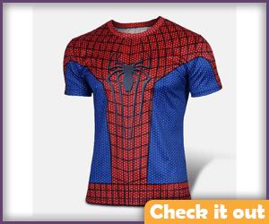 Spider-man Blue Tee.