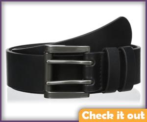 Two-Pronged Black Belt.
