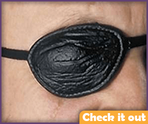 Textured Eye Patch.