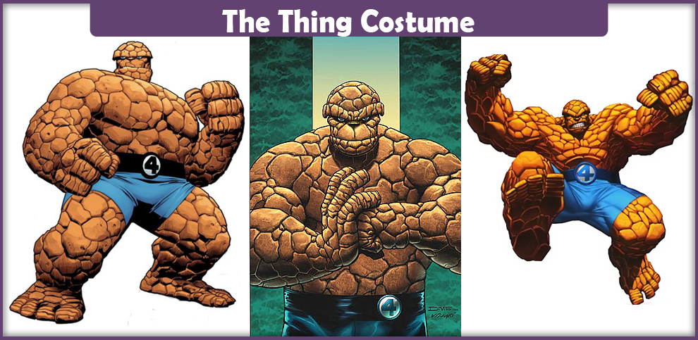 The Thing Costume – A DIY Guide
