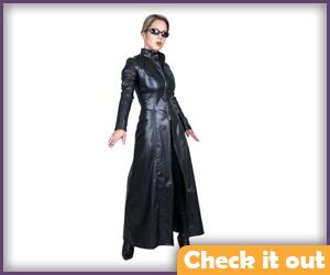 Trinity Leather Costume.