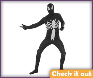 Venom Costume Bodysuit.