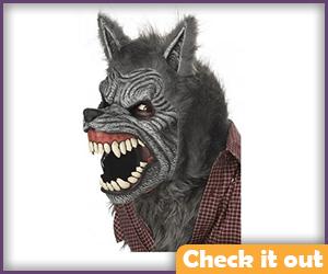 Grey Warewolf Mask.