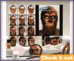Wolfman Makeup Kit.