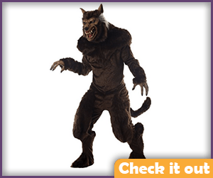 Wolfsbane Deluxe Warewolf Costume.