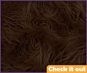Brown Fur Fabric.