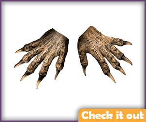 Hairless Wolfman Gloves.