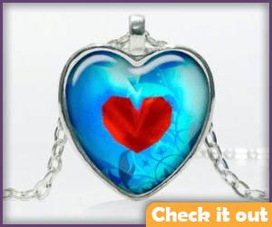 Heart Container Necklace.