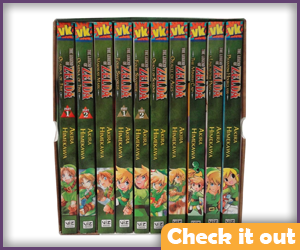 Zelda Manga Set.