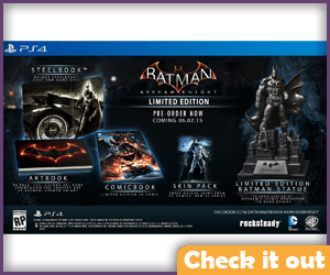 Arkham Knight Collectors Edition Game.