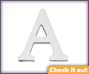 """A"" Wooden Letter."