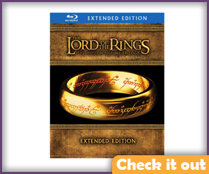 Lord of the Rings Blu-ray Box Set.